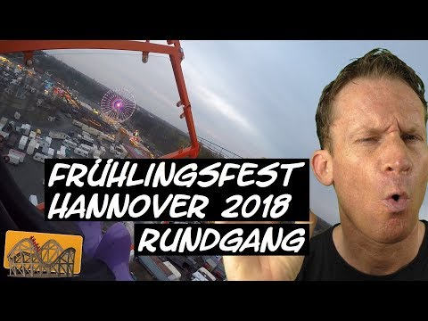 Frühlingsfest Hannover 2018 Rundgang | Funfair Blog #156 [HD]