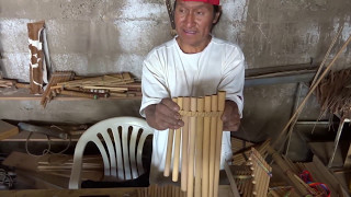 Making a pan flute