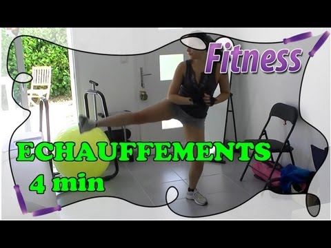 fitness routine la maison chauffement efficace en 4 min chrono youtube. Black Bedroom Furniture Sets. Home Design Ideas