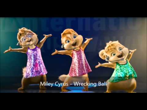 Miley Cyrus - Wrecking Ball (Version Chipmunks)