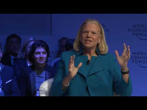 A conversation with Ginni Rometty, Chairman, President and Chief Executive Officer of IBM