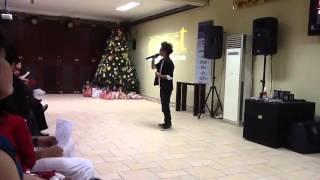 Rizky Patrick Egeten ( Kiki Idola Cilik ) - White Chritmas 2012