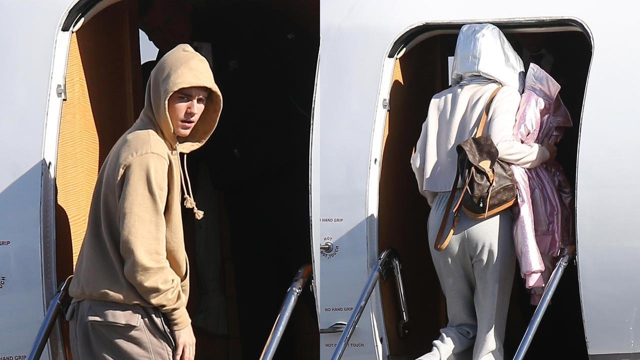 540ef70cc260 Justin Bieber Spotted at Airport With Mystery Girl - Is It Selena Gomez !   - YouTube