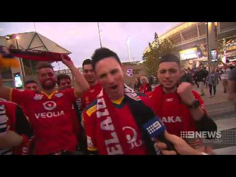 Adelaide United Celebrations | 9 News Adelaide