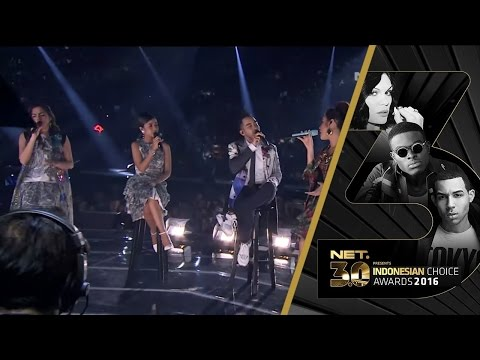 GAC Ft Raisa - Medley | Male Singer Of The Year | NET 3.0