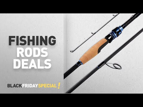Black Friday Fishing Rods Deals: NEW! KastKing Assassin Fishing Rods – Premium Fuji A-ring Line
