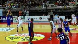 第35屆瓊斯盃籃球賽-中vs美-浩傑連線(簡浩 助攻 志傑-瘋狂3分球)