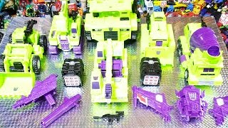 よみがえるTRANSFORMERS  UNITE WARRIORS UW-04 デバスター DEVASTATOR