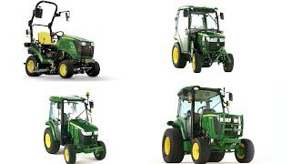 Tractores multiuso compactos - No importa la tarea | John Deere ES