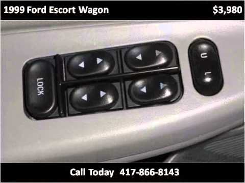 1999 ford escort wagon used cars springfield mo youtube for White motor company springfield mo