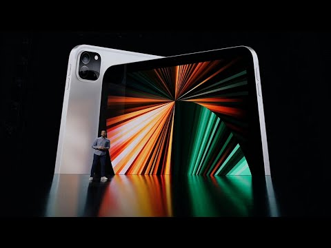 Apple unveils new iPads, iMacs