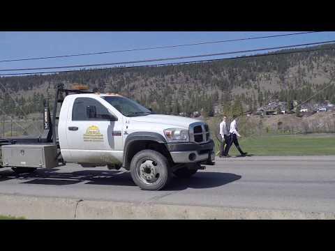 Driving In Merritt BC (British Columbia) Canada - Tour Of City/Town - Nicola Valley