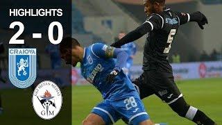 Rezumat: U Craiova - Gaz Metan 2-0 (Liga 1, et. 21, ed.2018-2019)