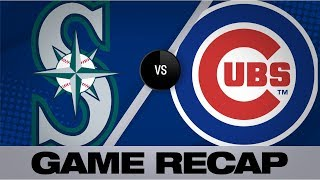 Schwarber, Castellanos back Lester in win | Mariners-Cubs Game Highlights 9/3/19