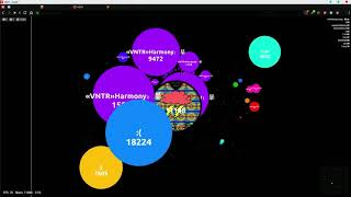 Agar.io - 【VNTR】vs Randoms (Motherships)