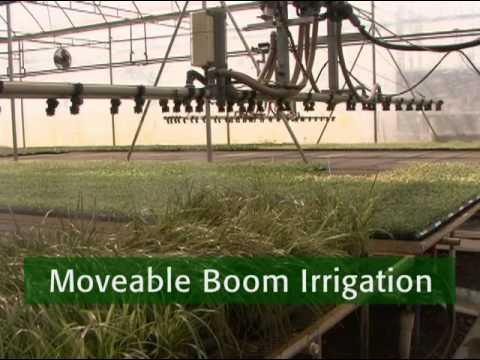 Low Volume Irrigation Moving Nurseries Toward Sustaility