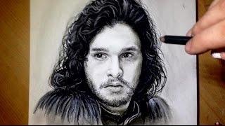 Comment dessiner un visage [Tutoriel] Jon Snow