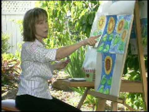 "Art with Joy ""Sunflower"" Demo"