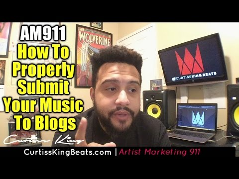 Rapper Marketing 911 - How To Get Your Music On Blogs
