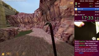 Half-Life WON Scriptless World Record - 31:28 speedrun