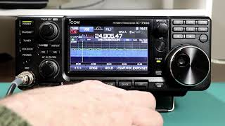 Icom IC7300 A to Z #40 Internal Antenna Tuner Operation