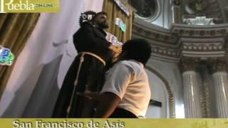 Fiesta de San Francisco de Asís en Puebla