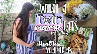 What I Ate : Vegan TWIN Pregnancy (Healthy Meal Ideas)