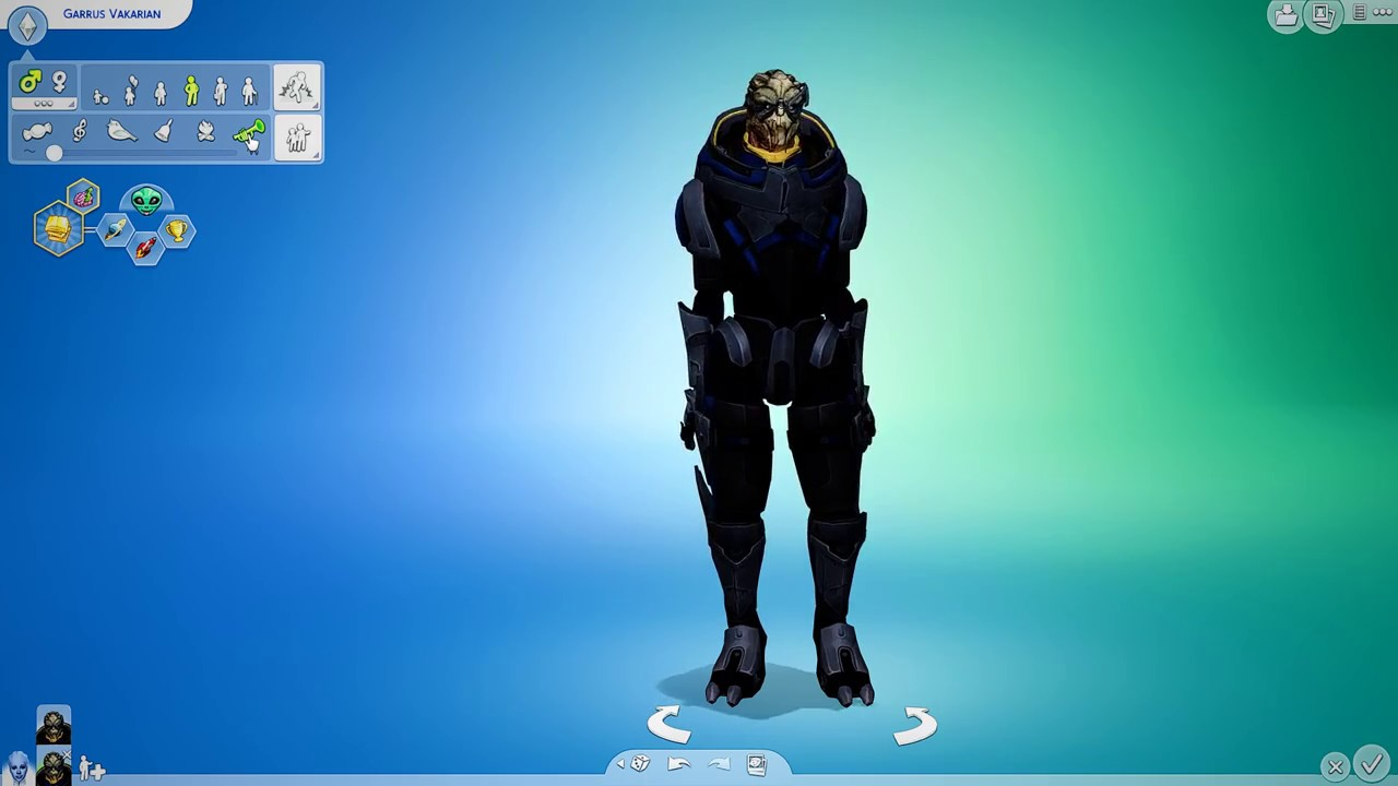 The Sims 4 - Mass Effect Characters - Youtube-2785