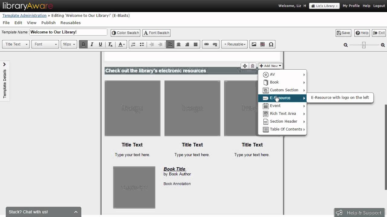 Create and Save Custom Email Templates for the Lists Editor - YouTube