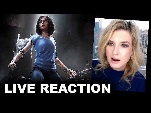 Alita Battle Angel Teaser Trailer REACTION