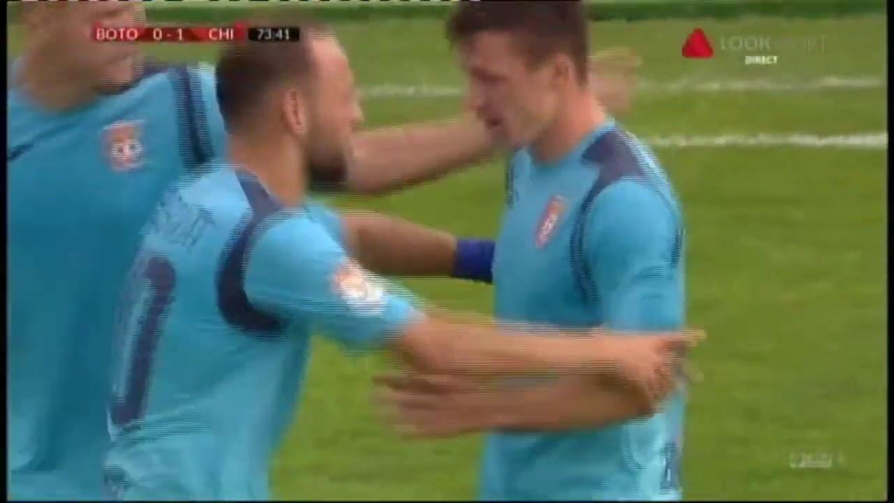 GOOOL! Botoșani - Chindia 0-1. Rață înscrie superb