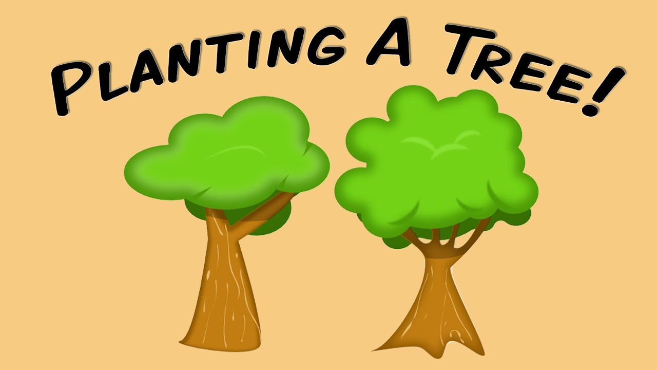 Planting A Tree (fingerplay song for children) - YouTube