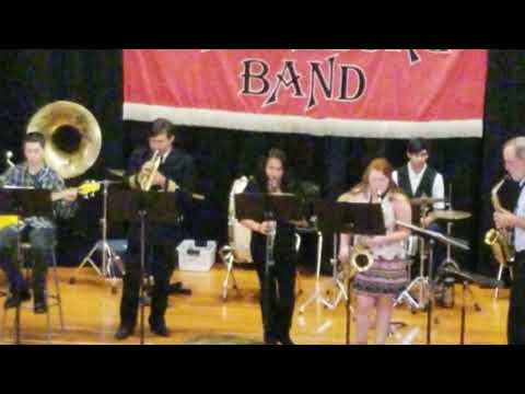 Spring Concert Tuxedo Junction by Erskine Hawkins performed Waitsburg High School Band