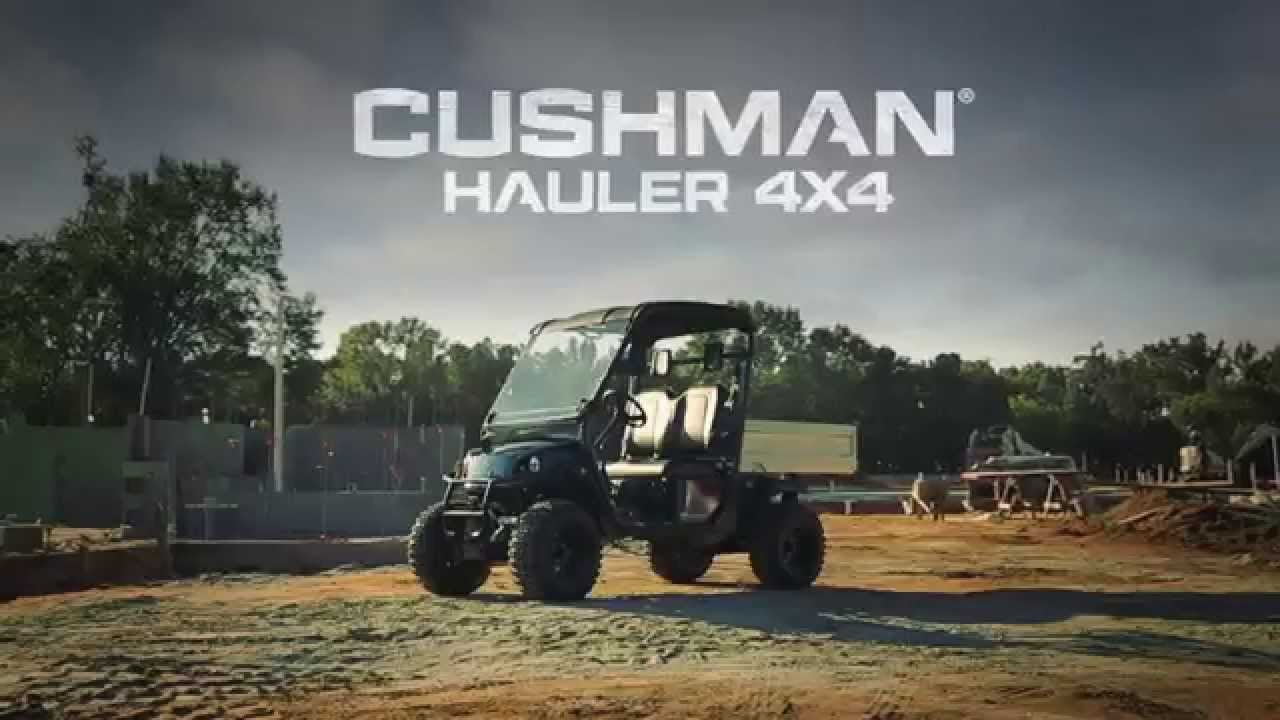 Cushman U00ae Hauler U2122 4x4 - Gas