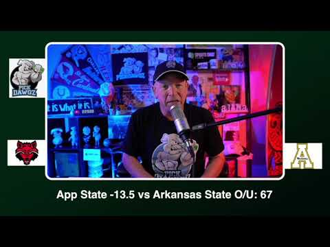 Appalachian State vs Arkansas State Free College Football Picks and Predictions CFB Tips 10/22/20