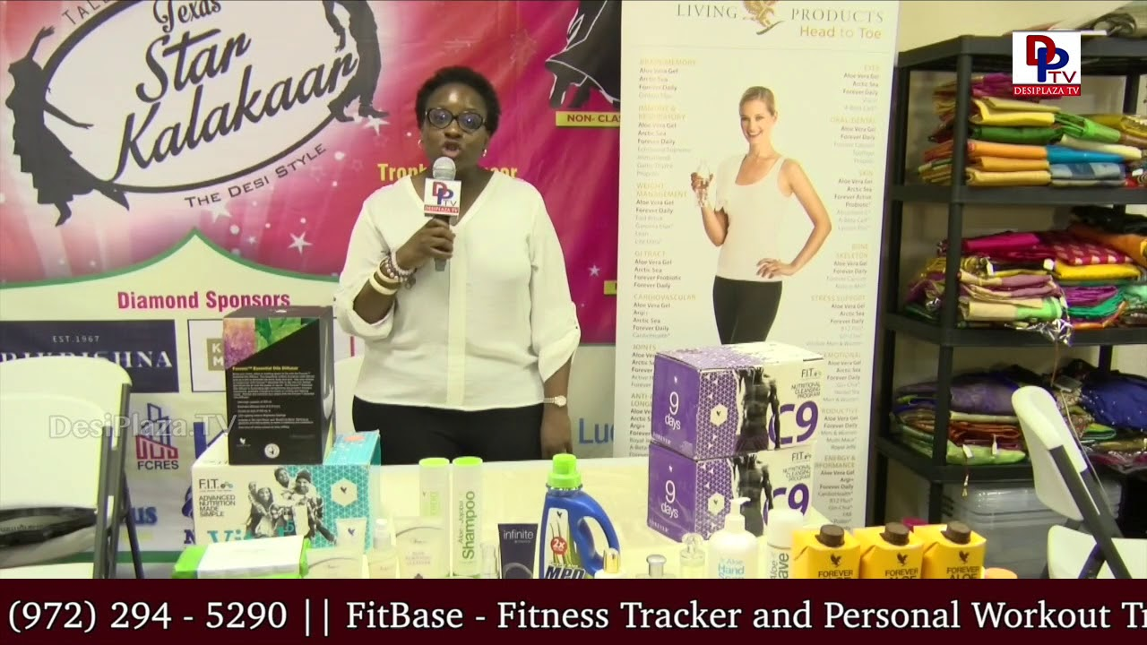 Forver Living Cosmetics - One of the Vendors at All In One Shopping Show at Desiplaza Studios | DPTV