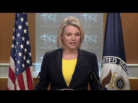 State Department Press Briefing, 4/17/18