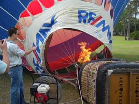 REMAX Elite Hot Air Balloon at Wickham Park for ABATE Toy Run 12.06.09.wlmp