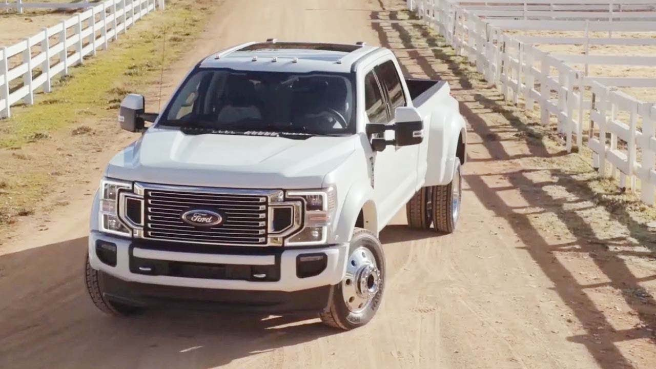 2021 Ford F450 Super Duty History