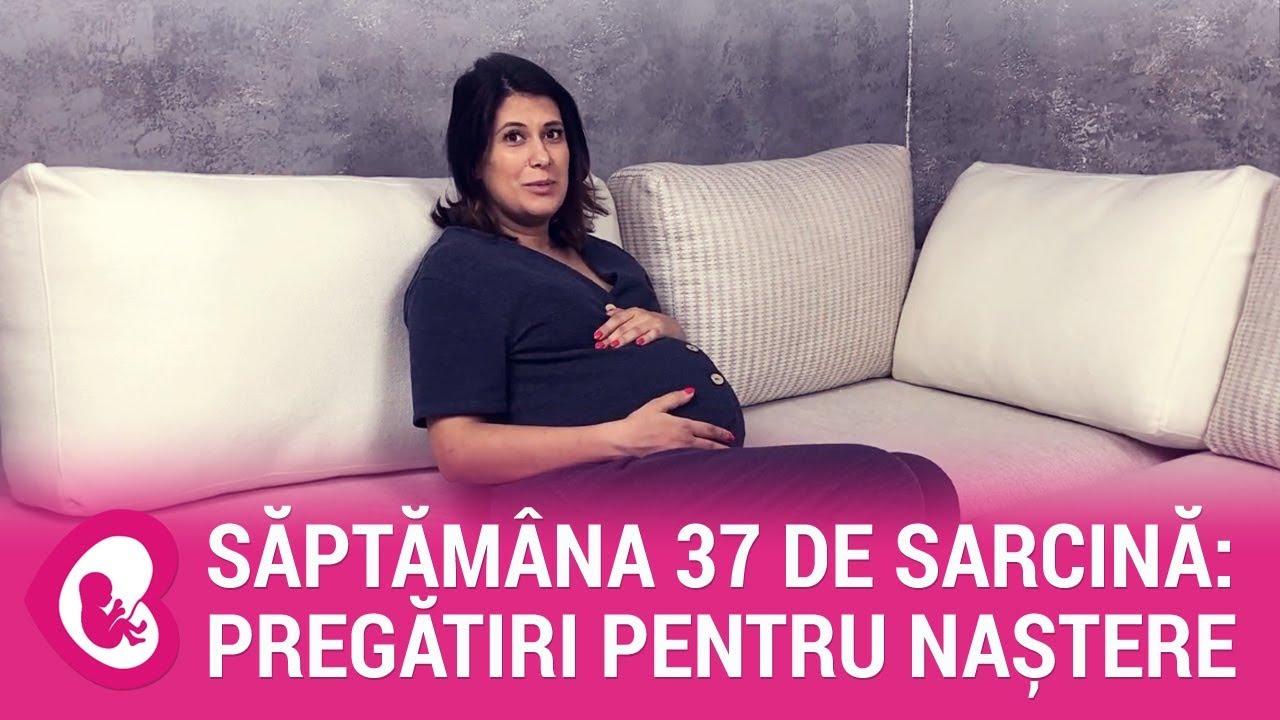 Durerile de burta in saptamana 37 de sarcina