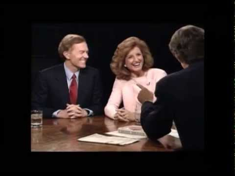 Charlie Rose Interviews Michael Huffington & Arianna Huffington