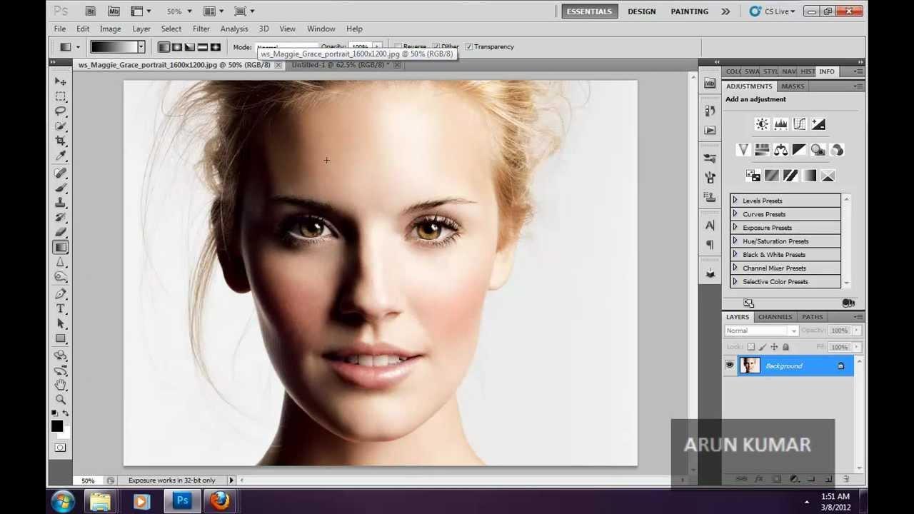 Photoshop cs5 selective color, invert, posterize, threshold commands