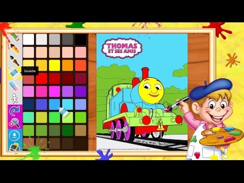 Coloriage thomas le petit train i coloriages pour enfants - Thomas le petit train coloriage ...