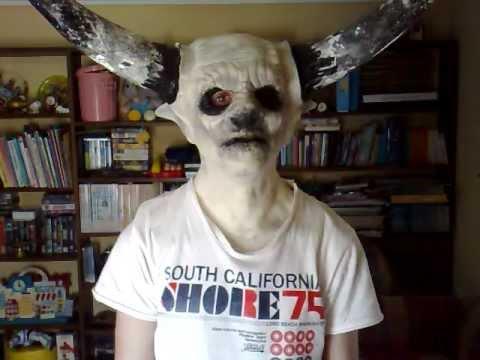 Masking/Unmasking Minotaur Mask - YouTube