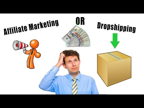 Affiliate Marketing Or Dropshipping - Which Online Business Is Better? thumbnail