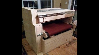 This is the part 2 of the build of my 2 steps drum sander. The plan is available on http://www.stumpynubs.com/.