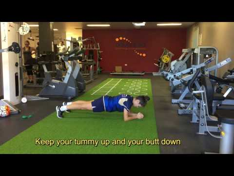 FOOTBALL PREHAB PLANK