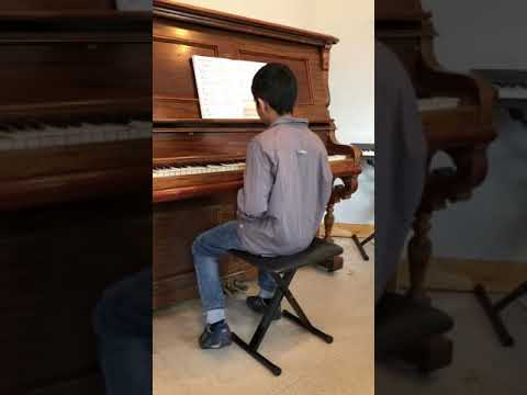 Red River Valley on Piano