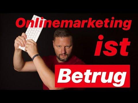 Onlinemarketing ist Betrug – Verbrenn' doch gleich Dein Geld