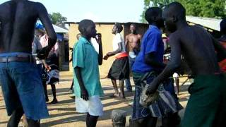 African dances: Acholi traditional dance from South Sudan